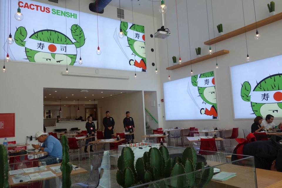 Sushi place doha