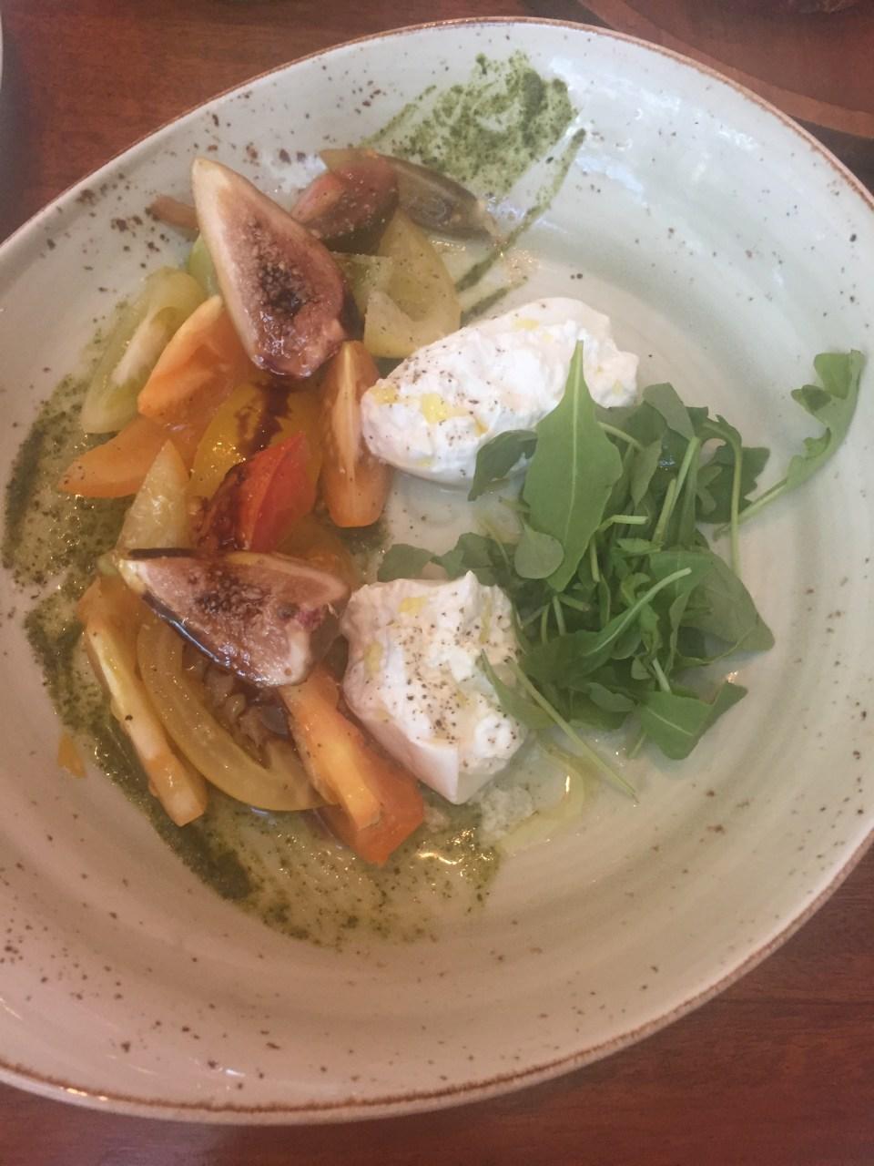 peach cheese doha food blog wedge