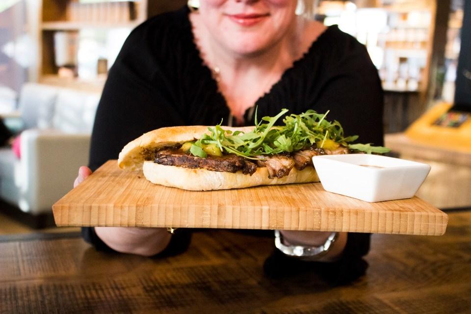 Meesh Cafe food blog