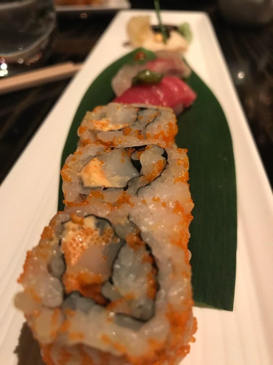 Sushi at Nobu Doha
