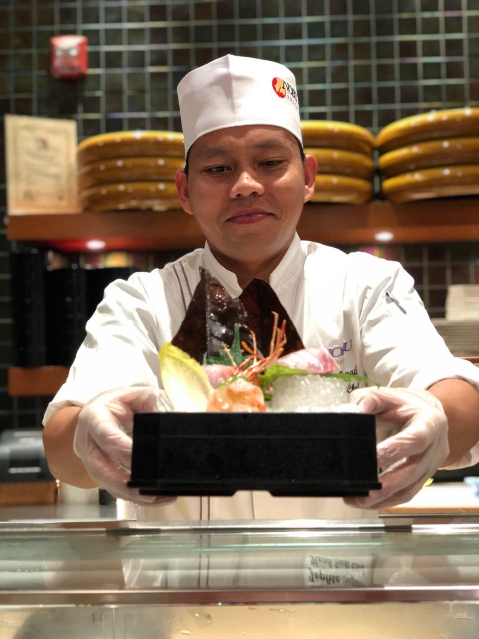 Nobu Doha sushi