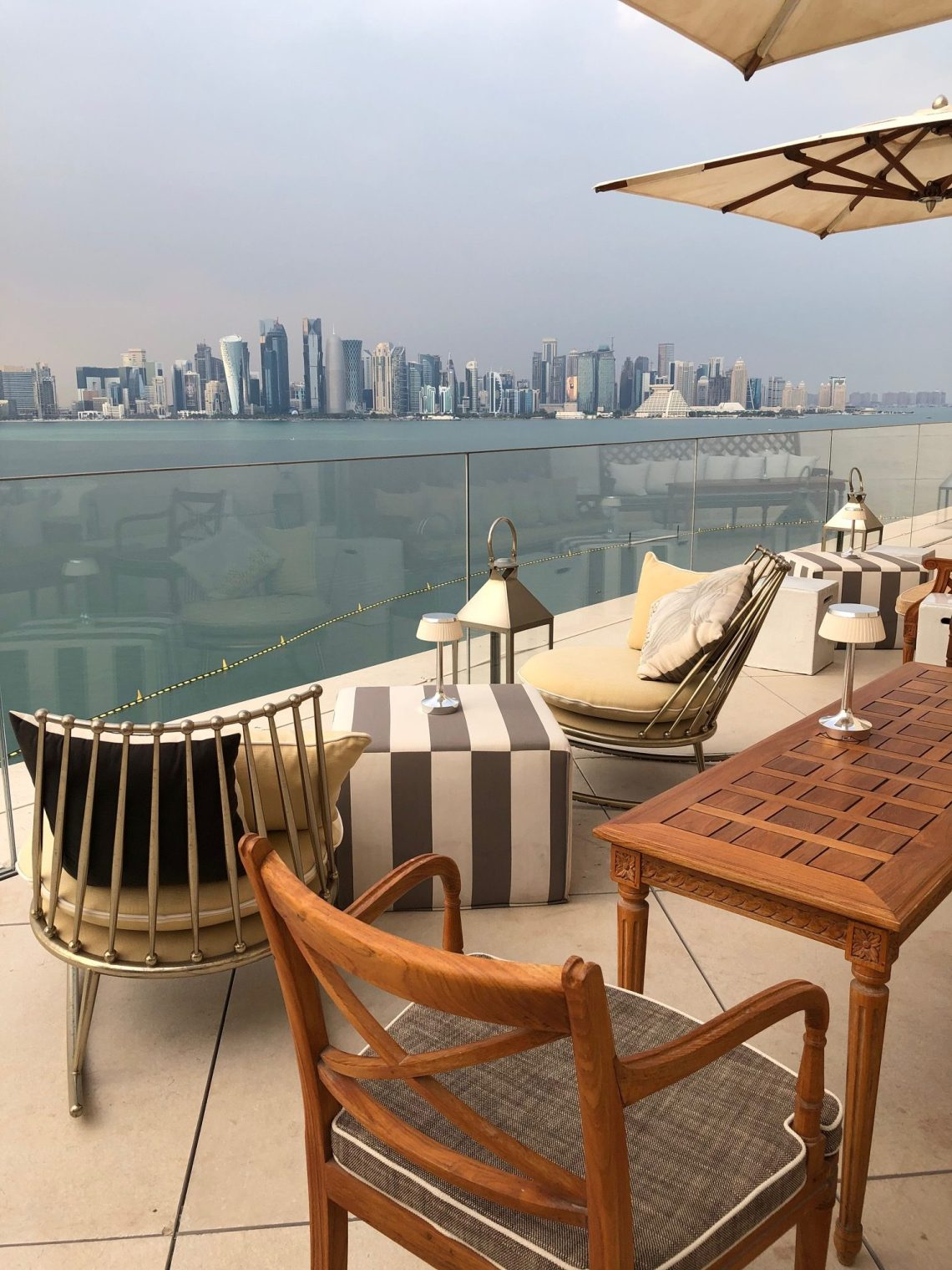 Seven places to dine outside in Doha this winter