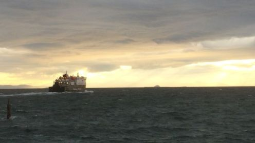 Clansman off into the Sun