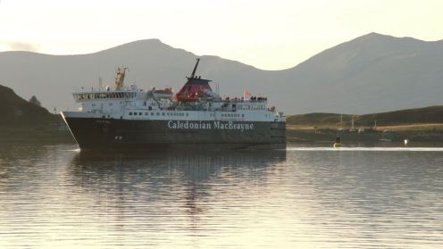 MV Isle of Mull returns to Oban