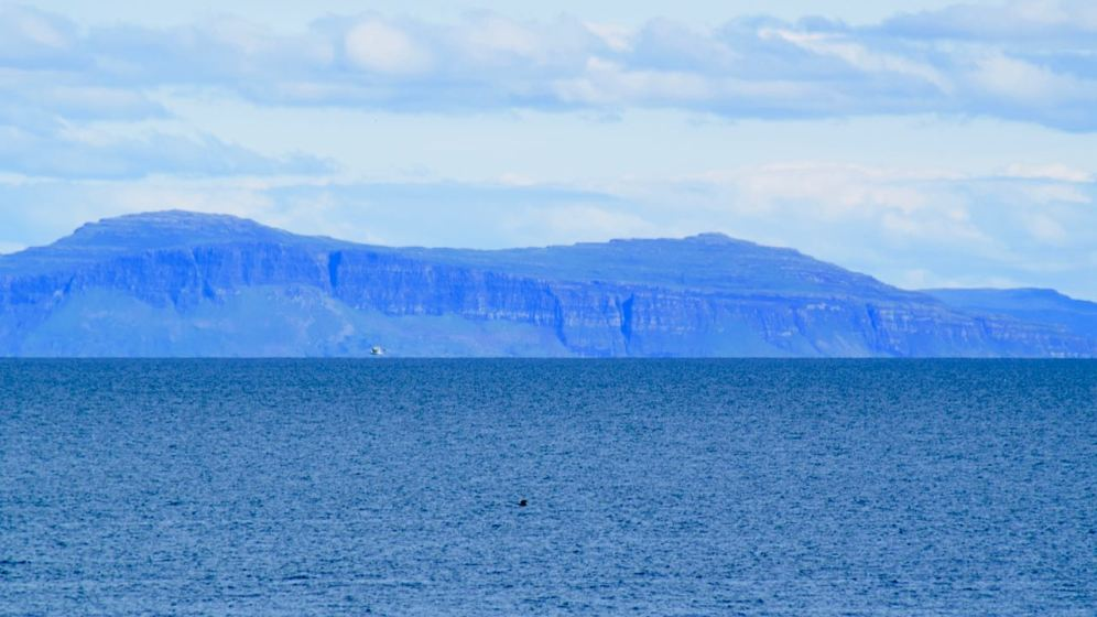 How the cliffs on Mull's Wilderness stand out