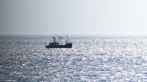 Fishing boat in Passage of Tiree