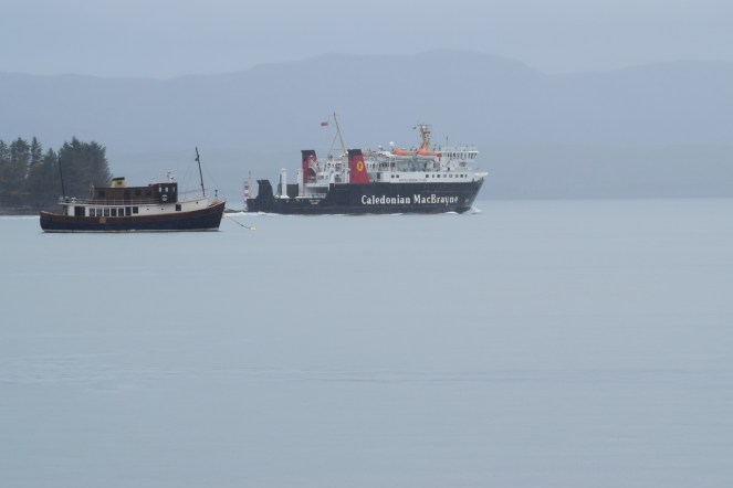 Lord of Isles sets sail for Tiree
