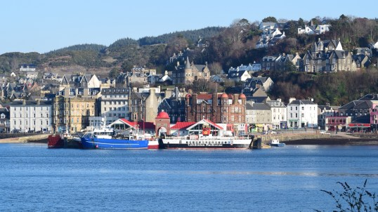 Oban Bay and North Pier