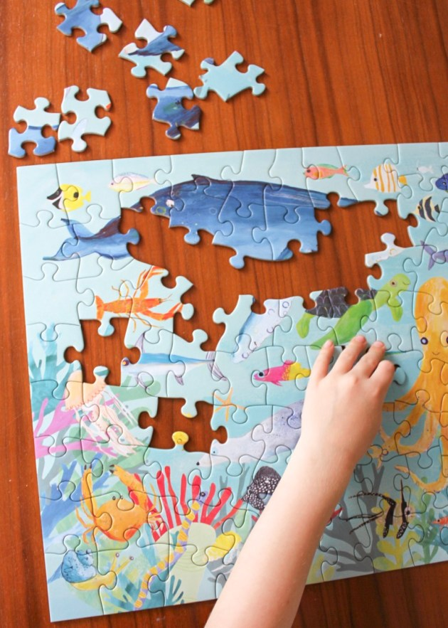 crocodile creek animal puzzles ocean