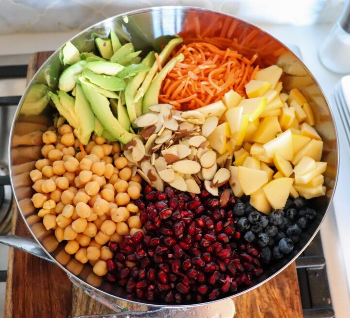 Ultimate Antioxidant Detox Salad - Finished