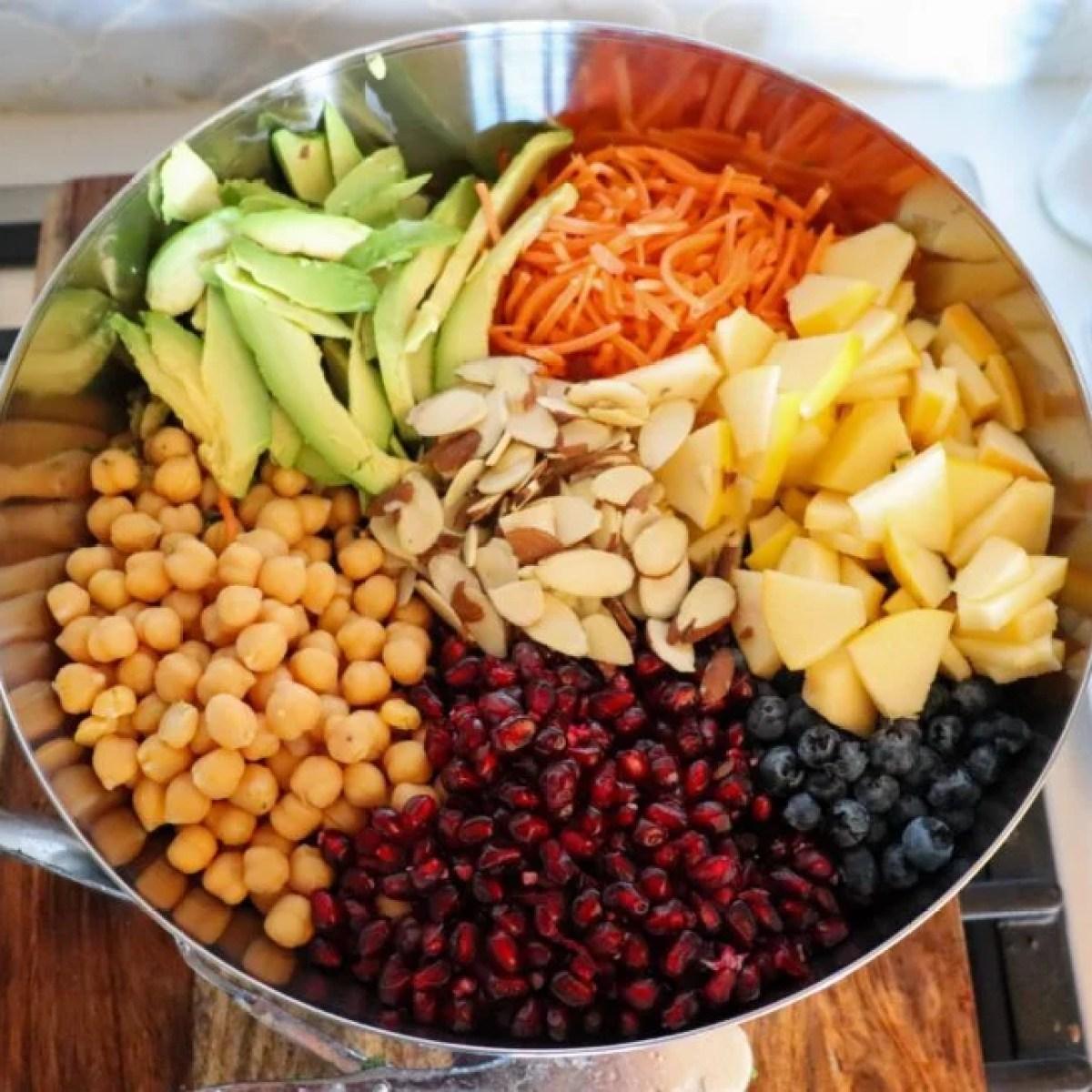 Ultimate Antioxidant Detox Salad - Finished