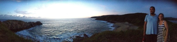 View from Punta Cometa (southern most point of Mexico)