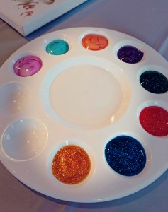 Toddler Painting Party supplies