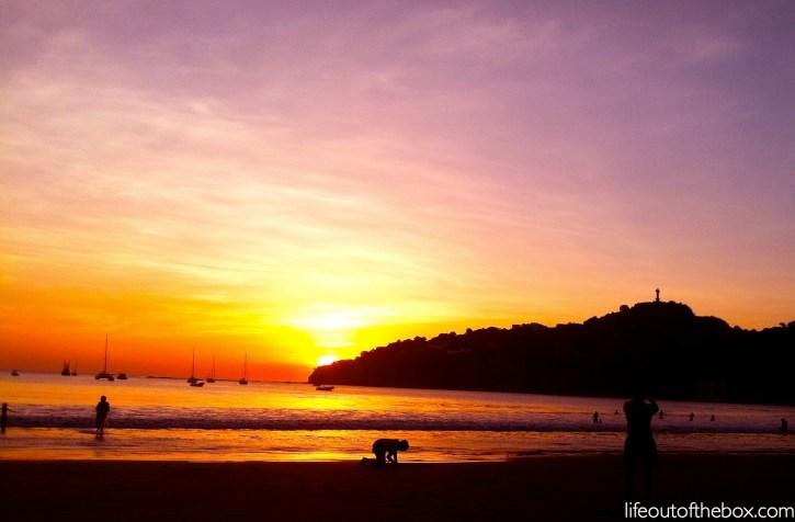 Another Beautiful Sunset in San Juan del Sur, Nicaragua