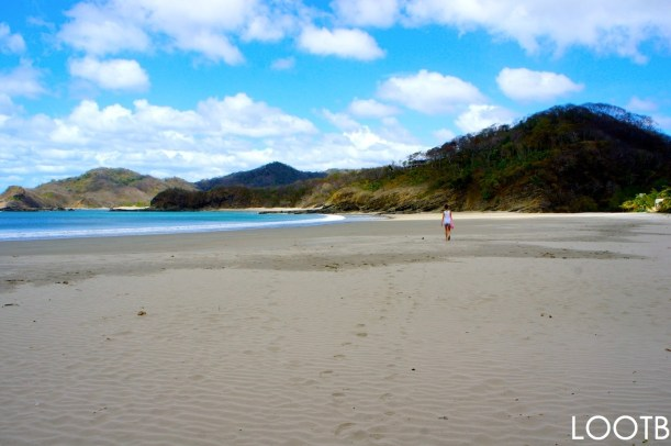 LOOTB on an epic hike in Maderas Beach, Nicaragua