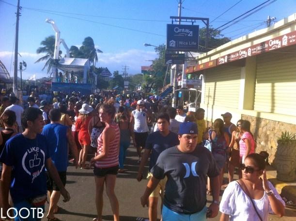 LOOTB at Semana Santa in San Juan del Sur, Nicaragua