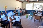 A classroom full of new notebooks in Nicaragua!