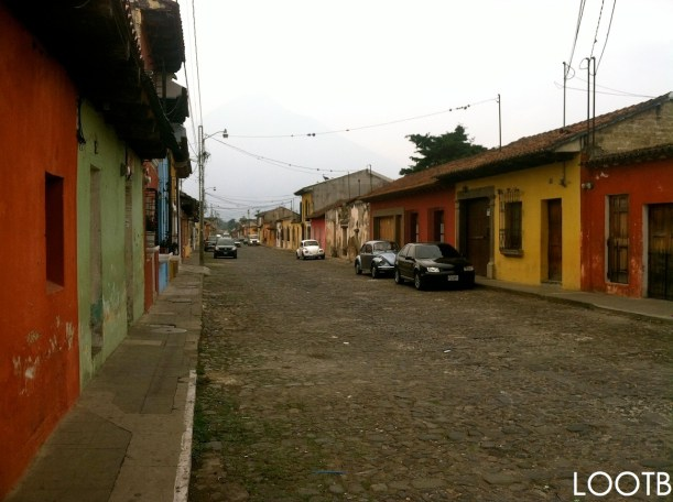 LOOTB Arriving in Guatemala.