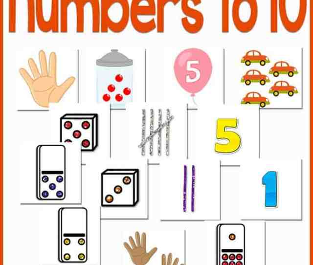 Practicing Numbers Is A Blast With This Free Printable Numbers To 10 Activity For Preschoolers