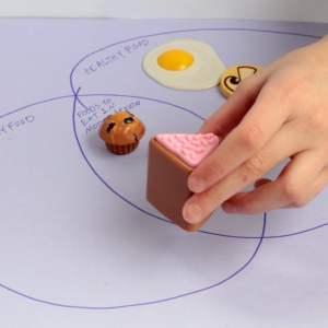 Venn Diagram Food Groups: Preschool Nutrition Activity