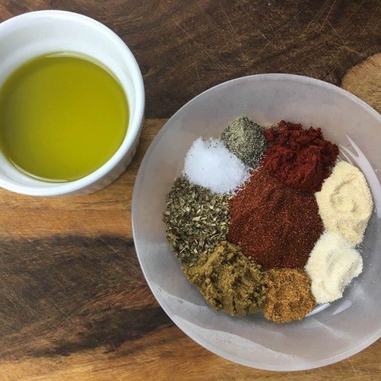 Ingredients for Homemade Fajita Seasoning Recipe