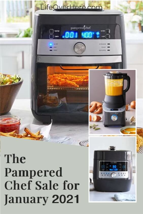 Pampered Chef Sale on Quick Cooker, Blender, and Air Fryer
