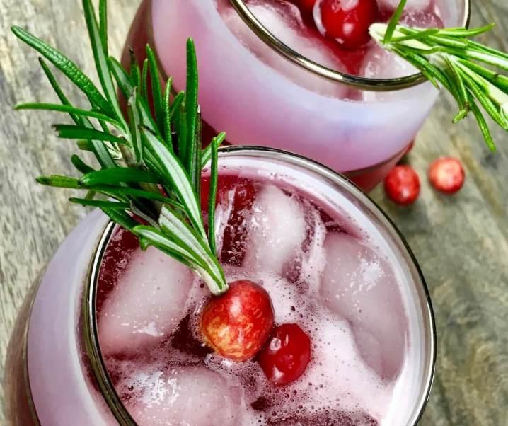 Spiced Cranberry Spritzer Recipe