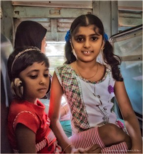 Two Girls on a Train