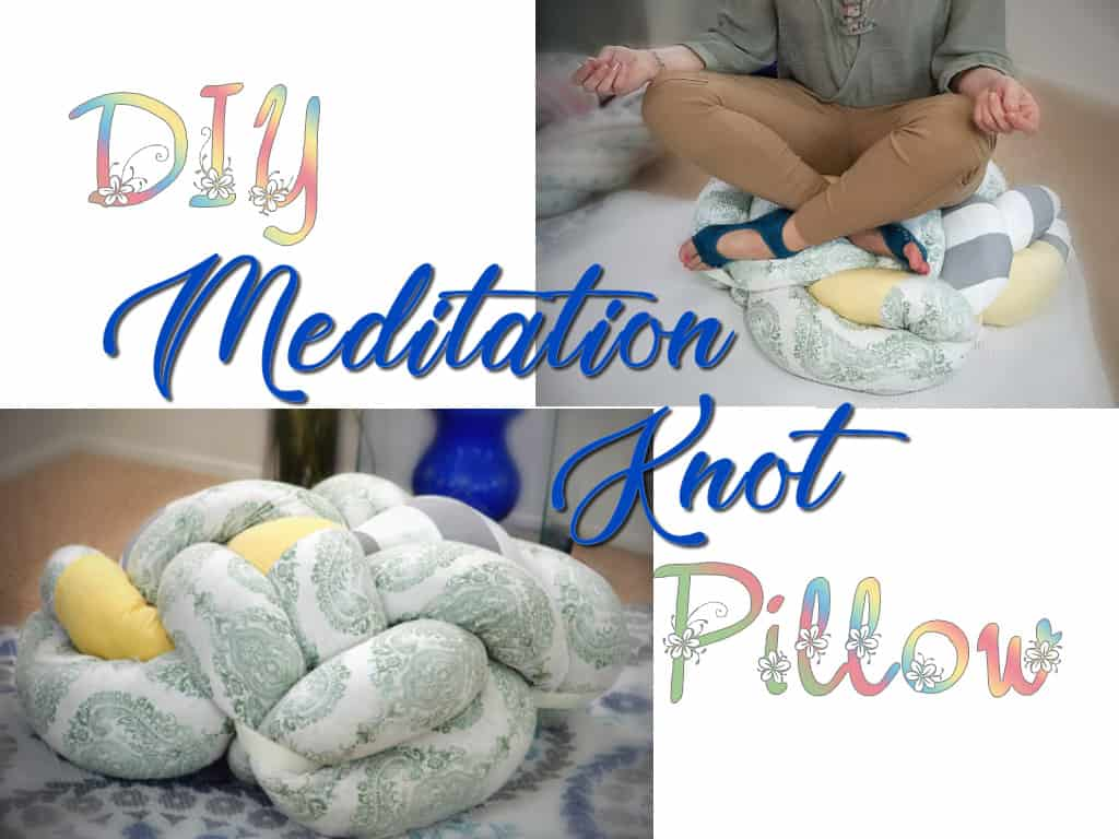 Meditation Knot Pillow Diy Step By Step Tutorial