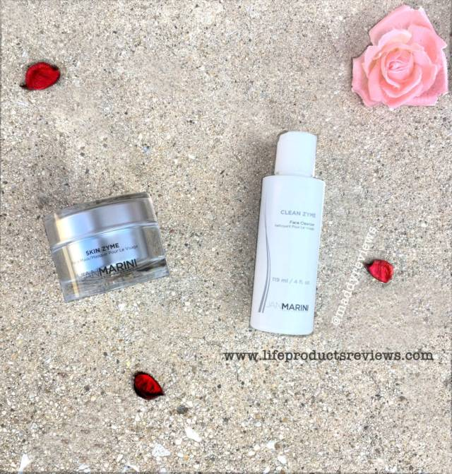 Jan Marini Skin Zyme cleanser and Mask exfoliate safe for all skin types