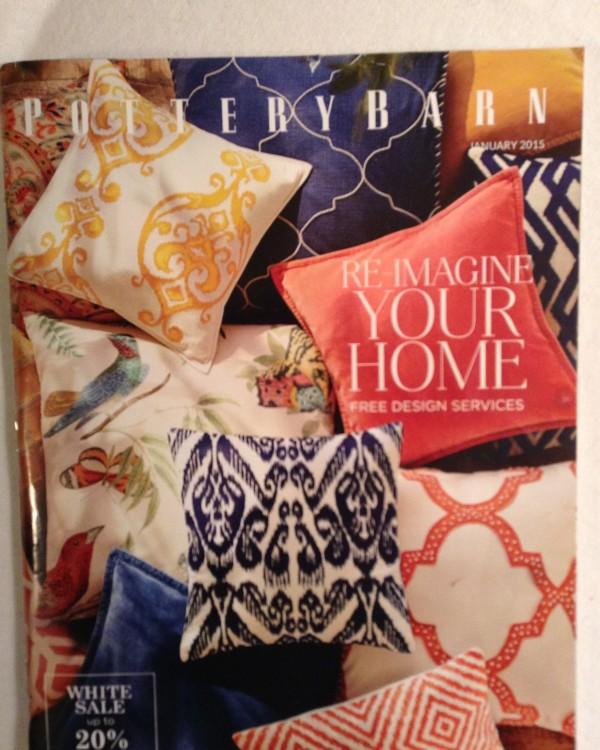 Pottery Barn cover pillows