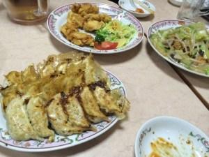 美味しい餃子の食べ放題! 餃子の王将 水道橋店