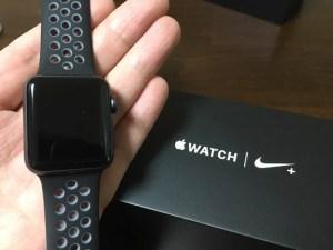 ついに『Apple Watch Nike+』が我が腕にやってきた!ランニングで使った感想、Suica機能を使った感想をお伝えします!