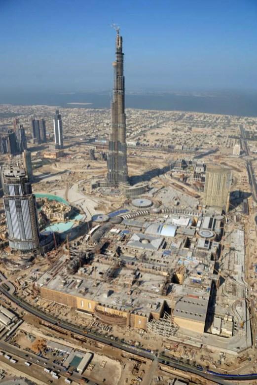 The Dubai Mall - Construction 2008 1
