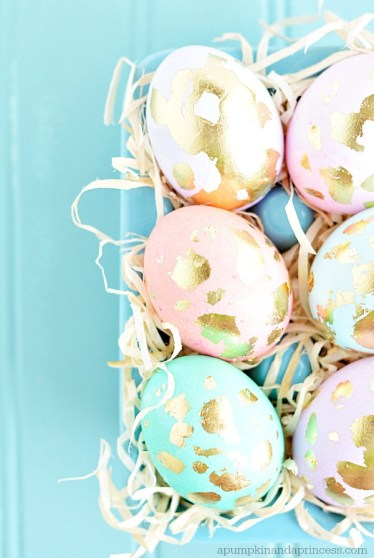 Gilded-Easter-Eggs