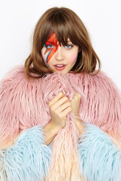 Ziggy Stardust Makeup Look
