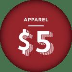 Apparel - $5