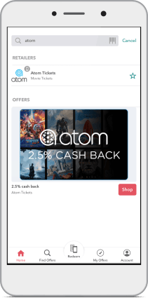 Planning a trip to the Movies? Start with Ibotta and earn real cashback at the Movie Theatre with Atom tickets. You can save even more on movie tickets!