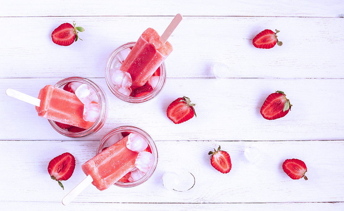 Five Healthy Homemade Popsicles