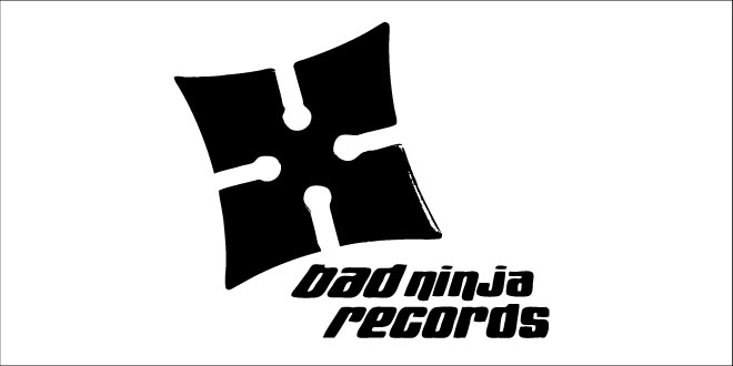 Logo - Identity - Music - Entertainment - Branding Design - Wellness - Client: Bad Ninja Records