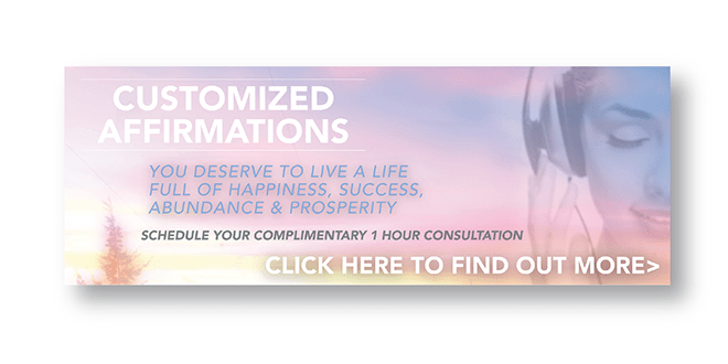 Web - Advertising - Web / Social Media Banner Design - Customized Affirmations - Wellness - Client: LifeRhythms