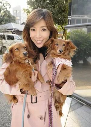 川島なお美 犬