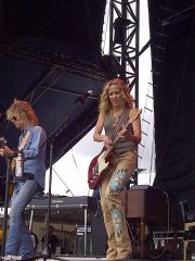 Sheryl Crow Boots and Hearts