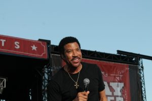 Lionel Richie Boots and Hearts