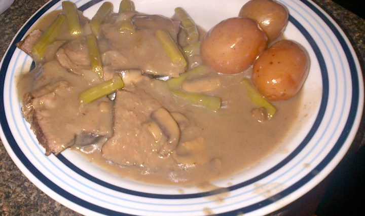Marvellous Mushroom Pot Roast