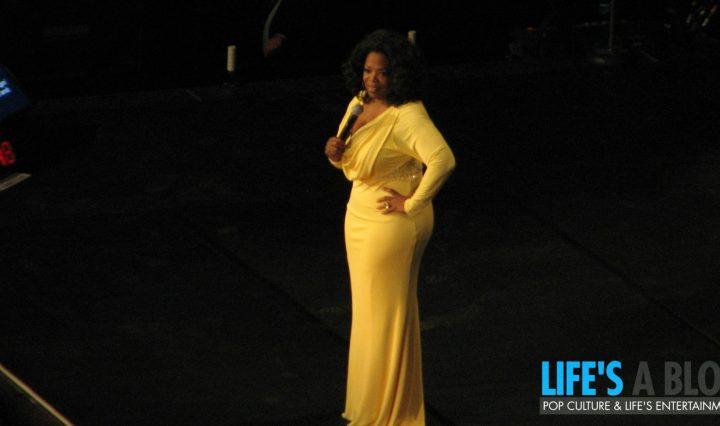 Oprah in Hamilton Ontario Canada