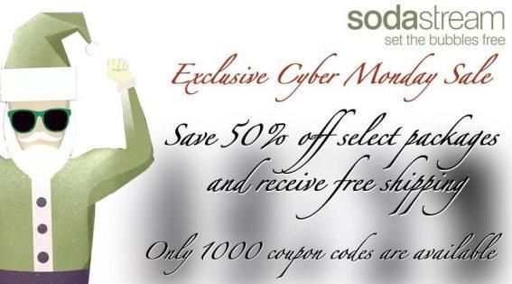 Cyber Monday SodaStream Sale