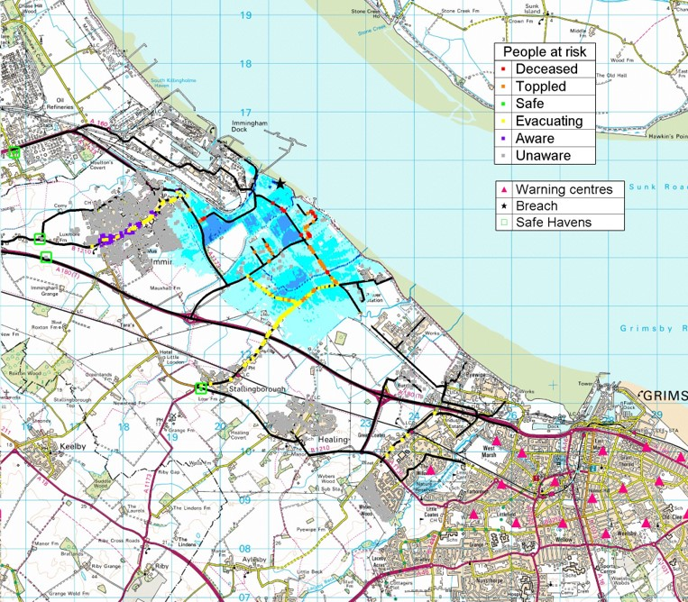 LSM applied to the Humber Estuary