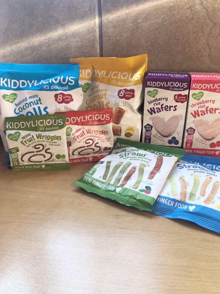 Kiddylicious healthy snacks