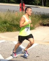 5th place OA, 2nd place AG - PR of 2:15 for the Charm City Run 20 Mile Trail Run